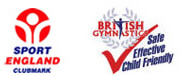 Sport England and British Gymnastics Logos